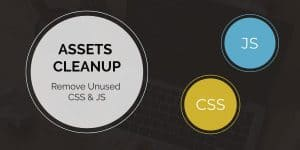 Remove unused css and js